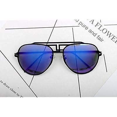4e036ea005e90c LXKMTYJ Tendance rétro personnalisé hommes lunettes de soleil Lunettes de  conduite fashion tendance film couleur,
