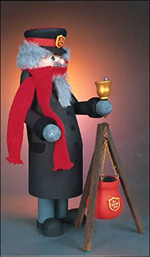 """13"""" Zims Heirloom Collectibles Salvation Army Bell Ringer..."""