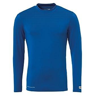Uhlsport Distinction Colors Baselayer Camiseta de Entrenamiento, Hombre, Azur, XXXL