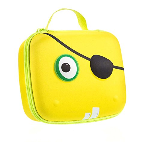 ZIPIT Beast Box Jumbo Storage Case, Yellow