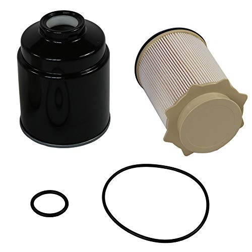 For Dodge 6.7L Cummins Fuel Filter Water Separator Set for 2013-2017 Ram 2500 3500 4500 5500 Diesel Trucks 3500 Cummins 6.7l Filter