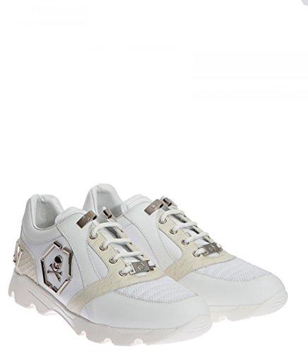 Philipp Plein Herren Sneakers Hanzo White-nickel