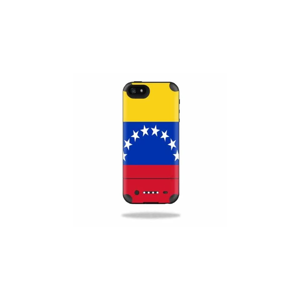 Mightyskins Protective Vinyl Skin Decal Cover for Mophie Juice Pack Air iPhone SE/5s/5 Apple iPhone SE/5s/5 Battery Case wrap sticker skins Venezuela Flag