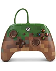 PowerA Enhanced Wired Controller for Xbox One - Minecraft Grass Block - Xbox One