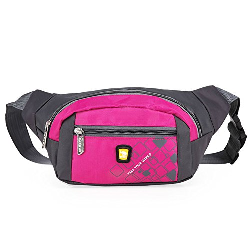 OpetHome Portable Small Water Resistant Nylon Fanny Packs Bag for Hiking Running Sports - Mens Macys Bags