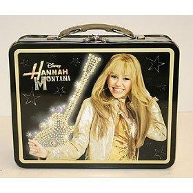 Hannah Montana Lunch Box (Disney Hannah Montana Tin Lunch Box Club Libby Exclusive)