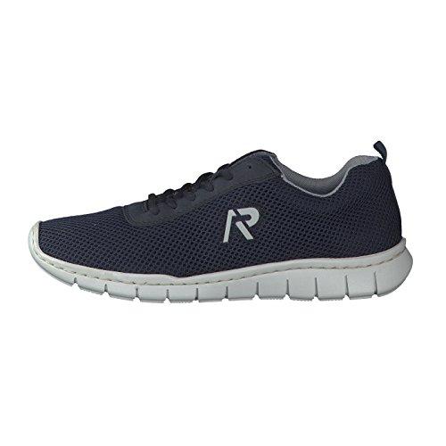 À Homme Lacets De Bleu Pour Rieker Ville Chaussures q86C6wz