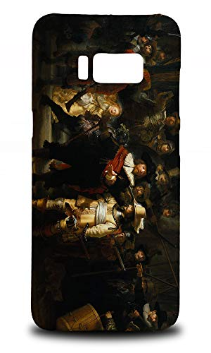 (The Night Watch Art By Rembrandt Hard Phone Case Cover for Samsung Galaxy S8)