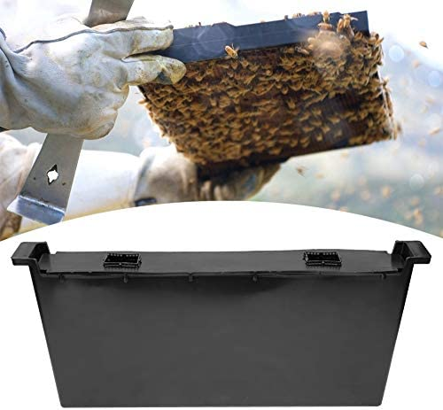 Cafopgrill Bee Feeder, 4L Schwarzer Kunststoff im Bienenstock Wasser Feeder Bienentrinkgerät Imkereigeräte Imkerbedarf