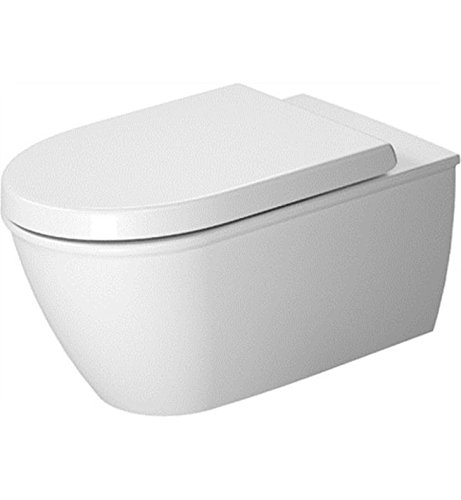 Duravit 2544092092 - Toilet wall mounted Darling New 62 cm white,washdown,US-version,HYG