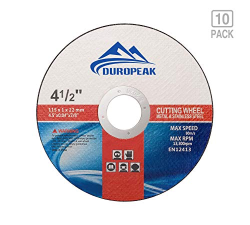 DUROPEAK 10Pack- 4.5