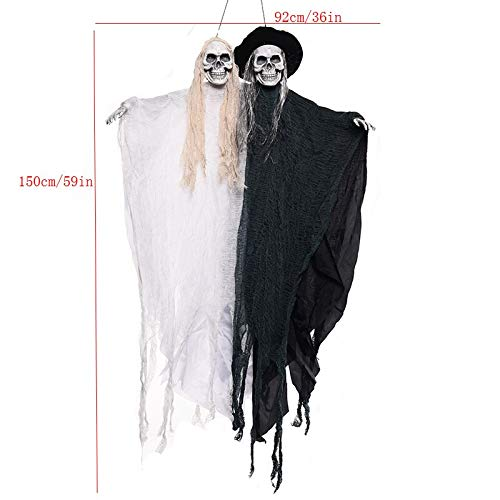 Halloween Hanging Ghost Decoration Festival Skeleton Toys Haunted