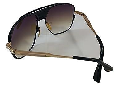dd843c393f DITA Armada Men DRX-2045-B Gold   Black Aviator Sunglasses with Brown Lens   Amazon.co.uk  Clothing