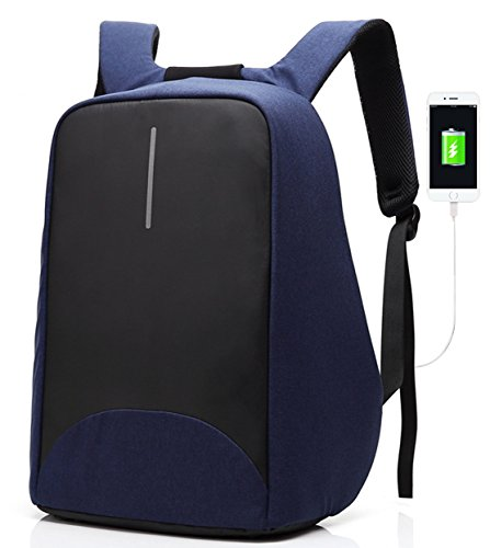 SAMI STUDIO - Business Laptop Backpack with USB Charging Port