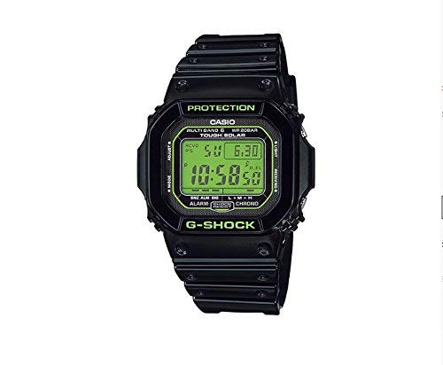 Reloj Casio G-shock - Reloj G Shock origen Tough Solar Reloj de Radio multibanda 6 GW-M5610B-1JF hombre: Amazon.es: Relojes
