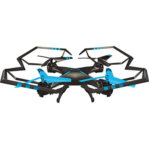 WARMSHOP Remote Control Quadcopter 6-Axis Gyro Flying Toys Helicopter (Blue) by WARMSHOP