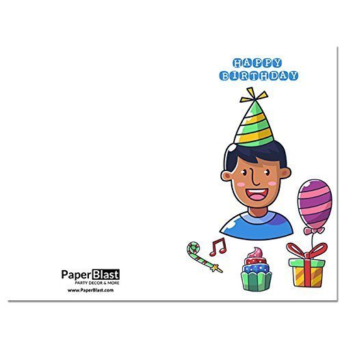 Amazon Little Boy Birthday Card With Custom Handwritten