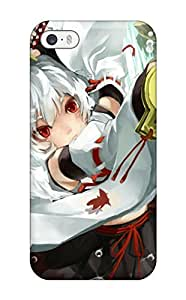Hot warriors redhead girl ribbon anime Anime Pop Culture Hard Plastic iPhone 5/5s cases WANGJING JINDA