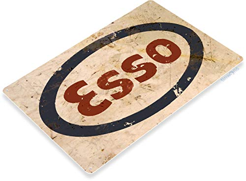 Esso Oil - Tinworld TIN Sign 12