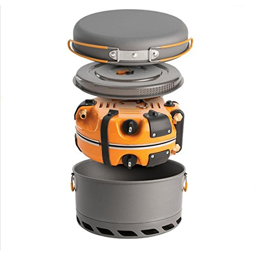 Jetboil Group Cooking System - Jetboil Genesis Basecamp Camping Cooking System