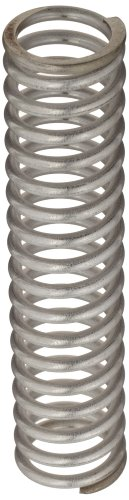 """Compression Spring, 302 Stainless Steel, Inch, 1.1"""" OD, 0.135"""" Wire Size, 2.696"""" Compressed Length, 4"""" Free Length, 47.91 lbs Load Capacity, 36.74 lbs/in Spring Rate (Pack of 10)"""