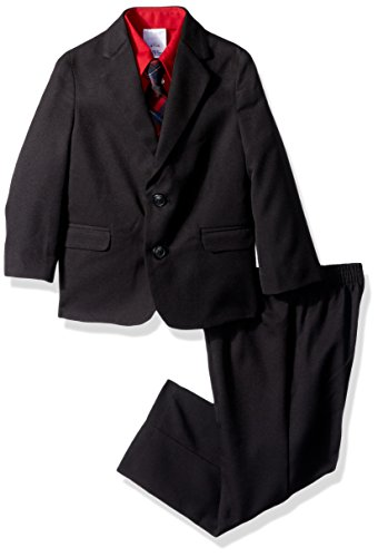 - Nautica Boys' 4-Piece Suit Set with Dress Shirt, Tie, Jacket, and Pants, Black, 6