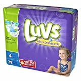 Health & Personal Care : Luvs with Ultra Leakguards, Size 4 Diapers 29 each pack of 2