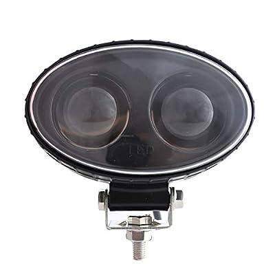 LY8 LED Forklift Safety Light Blue Zone Light Warehouse Pedestrian Warning Spot Light 8W 5.5inch 10V-80V: Automotive