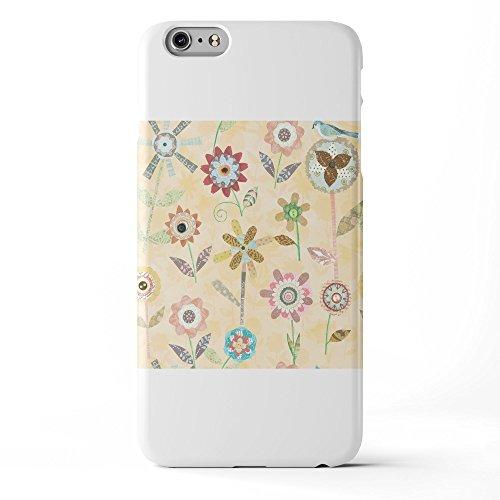 Koveru Back Cover Case for Apple iPhone 6 Plus - Raining Flowers Butter