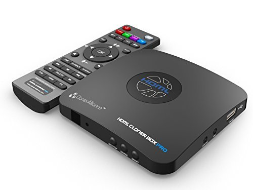 HDML-Cloner Box Pro, HDMI/VGA/AV/YPbPr Video Recorder, DVR, PVR, Capture Video/Game to USB Flash Drive/PC and Play Back Instantly, Schedule Recording, Live Streaming. For Live TV, Xbox One, PS4.