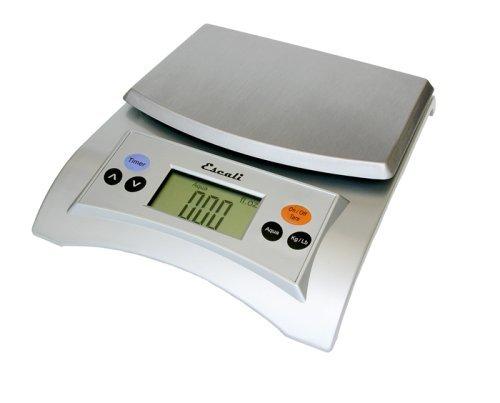 Escali A115S Aqua Digital Scale Liquid Measuring Scale 11 Lb / 5 Kg, Silver Grey by Escali (Aqua Scale Measuring Digital Liquid)