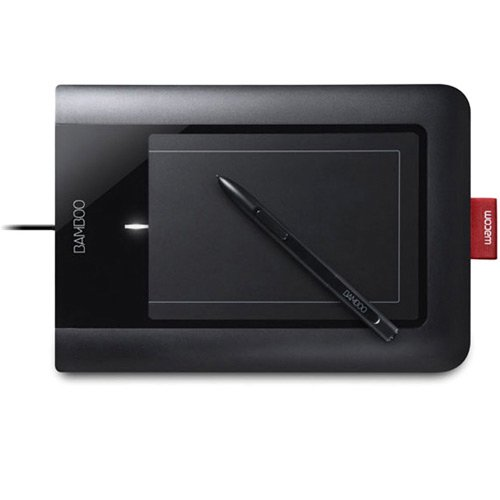 Wacom Blue Pen - Wacom Bamboo Pen Tablet