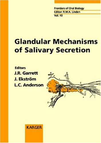 Glandular Mechanisms of Salivary Secretion (Frontiers of Oral Biology, Vol. 10)