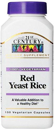 21st Century Red Yeast Rice, 150 Vegicaps Pack of 6