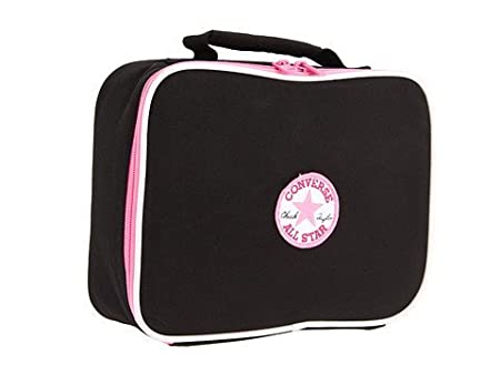 Converse All Star Girl s Insulated Lunch Bag (Jet Black Pink)   Amazon.co.uk  Kitchen   Home c79a59e0b2855