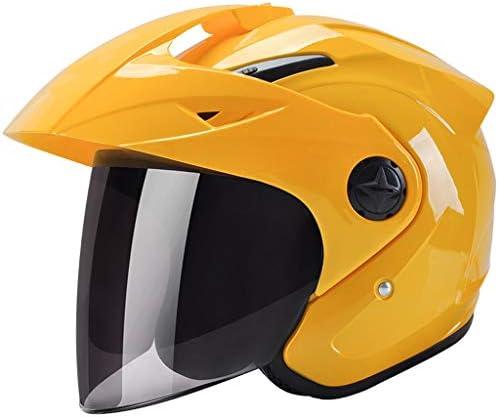 安全装置 ヘルメット - オートバイのヘルメット男性の電気自動車の女性夏の日の保護アンチフォグハード帽子 個人用保護具