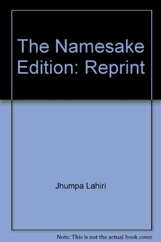 The Namesake By Lahiri, Jhumpa
