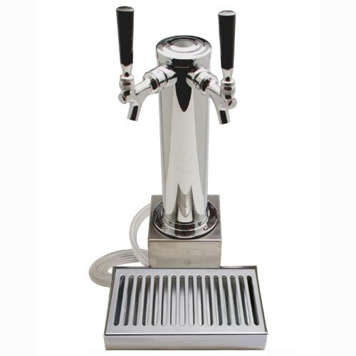 Clamp On Draft Beer Tower (2 Faucet)