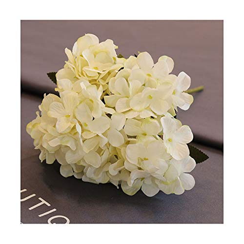 Artificial Flowers Silk Hydrangea Retro Fake Flowers for Wedding Party Home Decor DIY Silk Flowers,2]()
