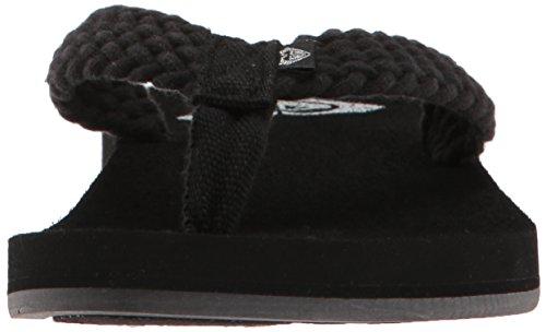 Schwarz RoxyARJL100677 Damen Roxy Sandale Porto Flip Flop BWWvY