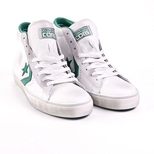 Sneaker Alte Converse Uomo PRO Leather Bianco Vulc 8CTtUwTq