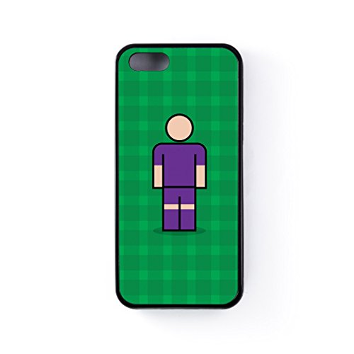Fiorentina Black Silicon Case Rubber Case for Apple® iPhone 5 / 5s by Blunt Football European + FREE Crystal Clear Screen Protector