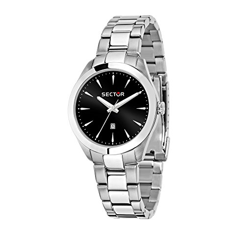 SECTOR Women's '120' Quartz Stainless Steel Fashion Watch, Color Silver-Toned (Model: R3253588518)