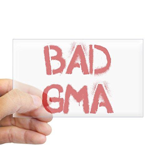 CafePress - Bad Gma Sticker - Rectangle Bumper Sticker Car Decal (Nasty Graffiti)