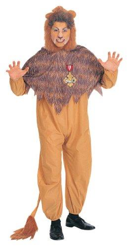 Adult Cowardl Lion Costume