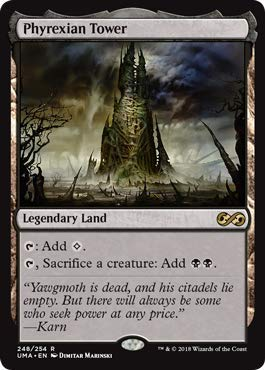Magic: The Gathering - Phyrexian Tower - Foil - Ultimate Masters - Rare