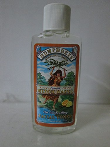 Humphreys Homeopathic Remedies Witch Hazel Oil Cntrl Tnr 2 Fz