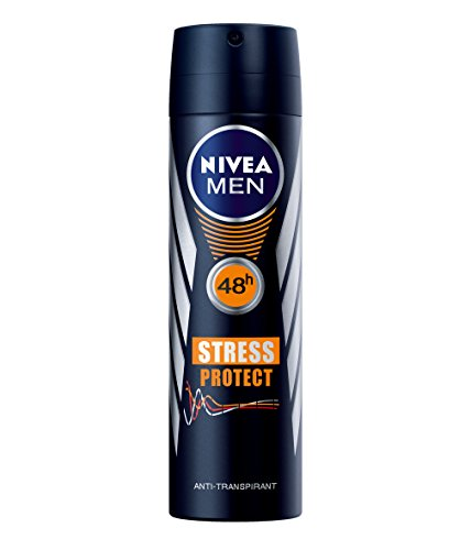 Nivea Men Deo Stress Protect Spray, Antitranspirant, 6er Pack (6 x 150 ml)