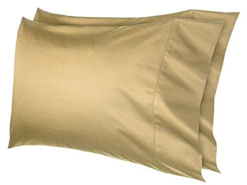 Fieldcrest Egyptian Cotton 600 Thread Count Pillowcase Set (King, Horseradish)