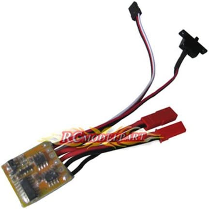 10A Brushed ESC Two Way Motor Speed Controller No Brake For 1//16 1//18 1//24 Car
